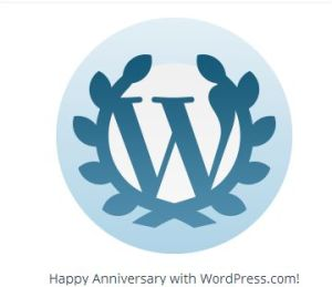 Wordpress Anniversary Logo